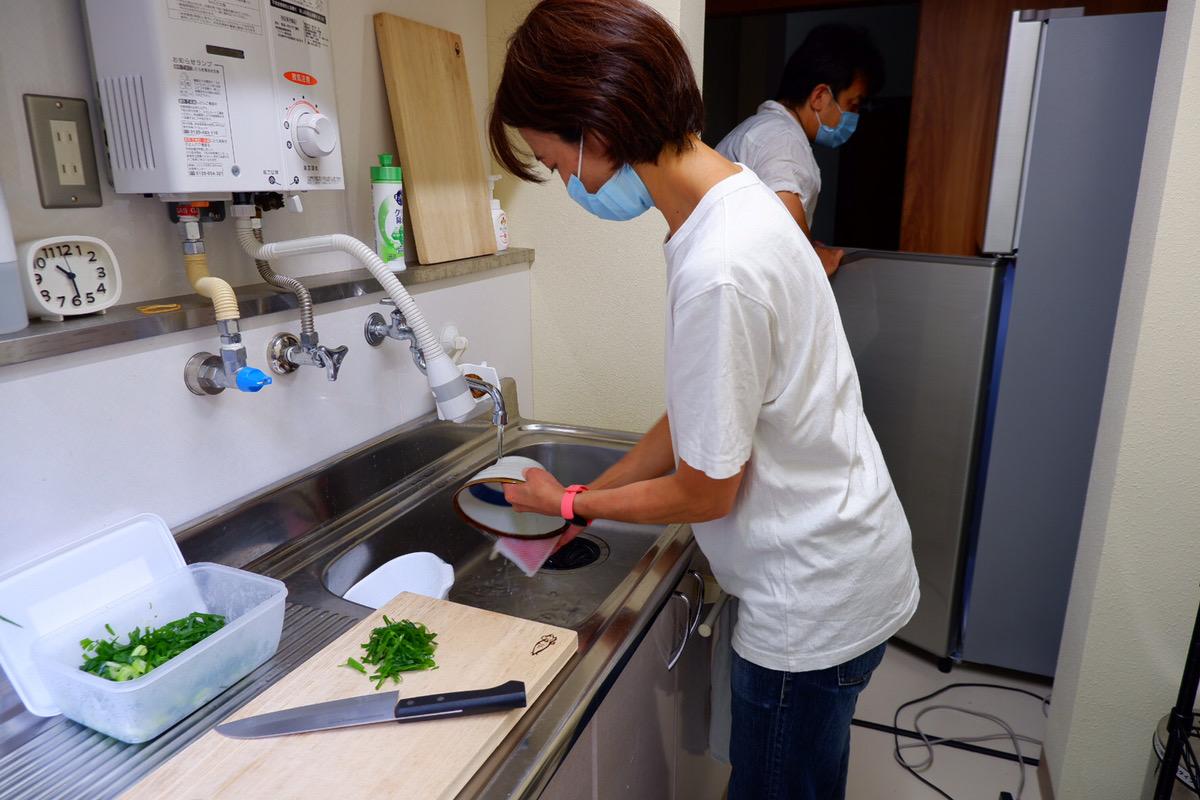 ムラカラ体験宿泊_⑬昼食作り
